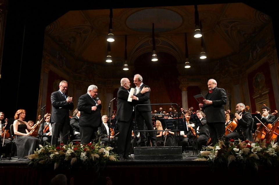 Foto Roberto Ricci - Vladimir Stoyanov Cavaliere di Verdi