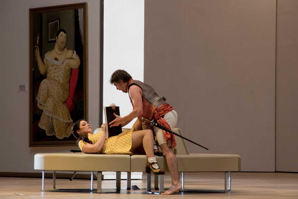 Eleonora Buratto: Corinna_ne Il viaggio a Reims - Ducht National Opera 2015