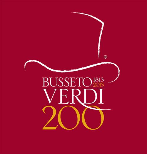 logo del bicentenario verdiano a Busseto