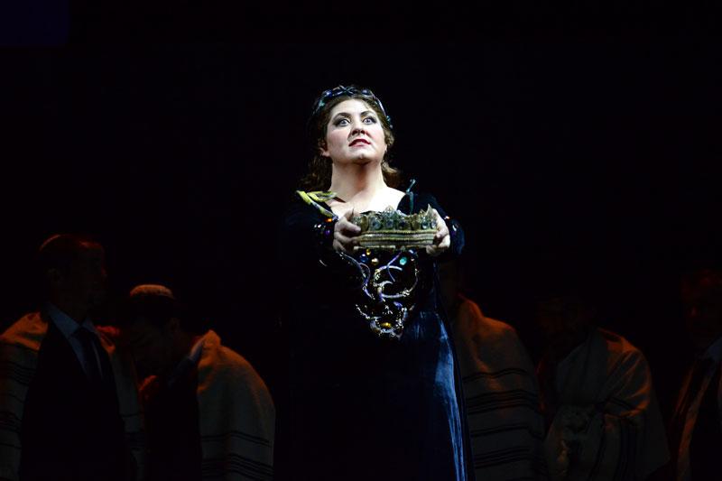 Anna Pirozzi (Abigaille) - foto di Roberto Ricci