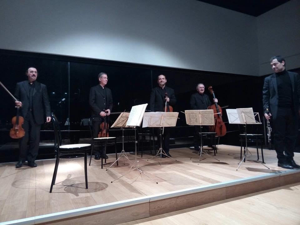 Quartetto di Venezia e Alessandro Carbonare - @quartettodivenezia