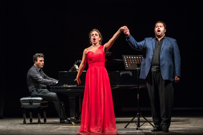 Eleonora Bellocci, Celso Albelo e il pianista Davide Cavalli