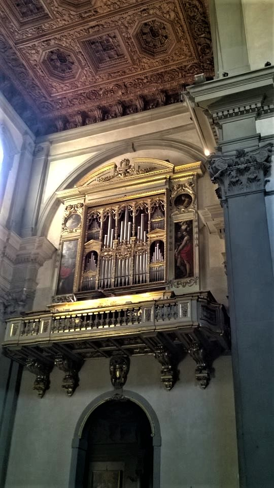 L'organo della Badia Fiorentina, foto di Fabio Bardelli