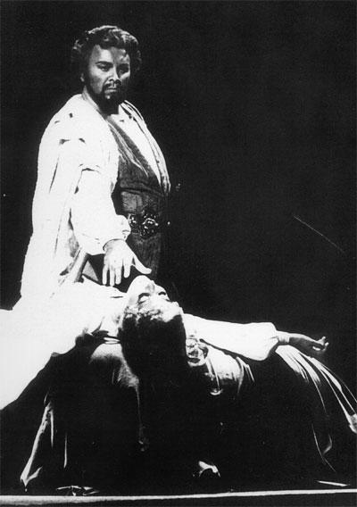 1981 - Bonn: il debutto in Otello