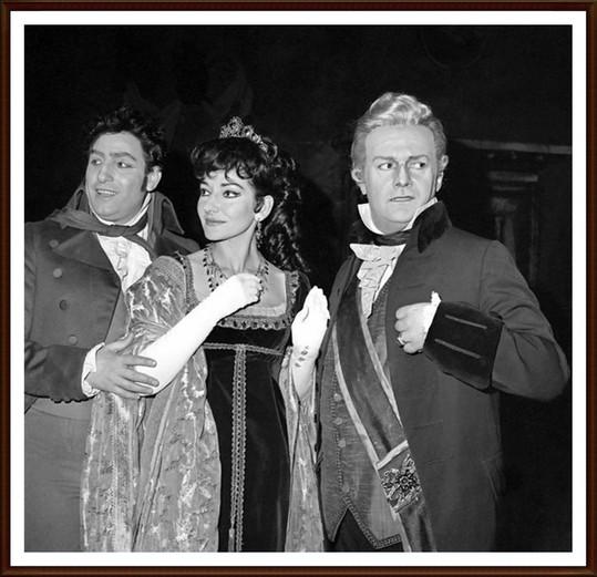 Renato Cioni, Maria Callas e Tito Gobbi - Tosca, Londra 1964