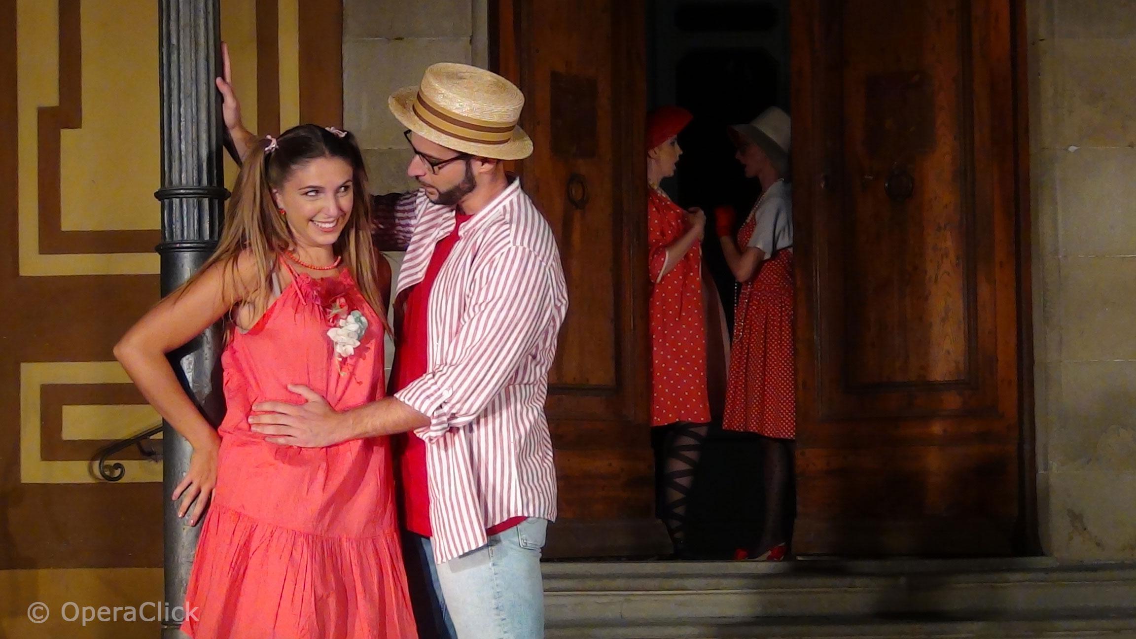 Eleonora Boaretto e Riccardo Benlodi - foto OperaClick