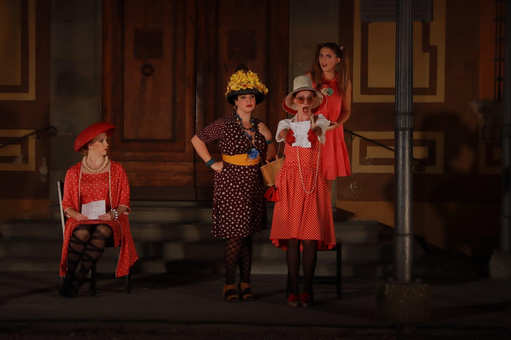 Eleonora Boaretto, Melissa Purnell, Vittoria Vimercati e Eva Maria Ruggieri - foto Corso d'Opera