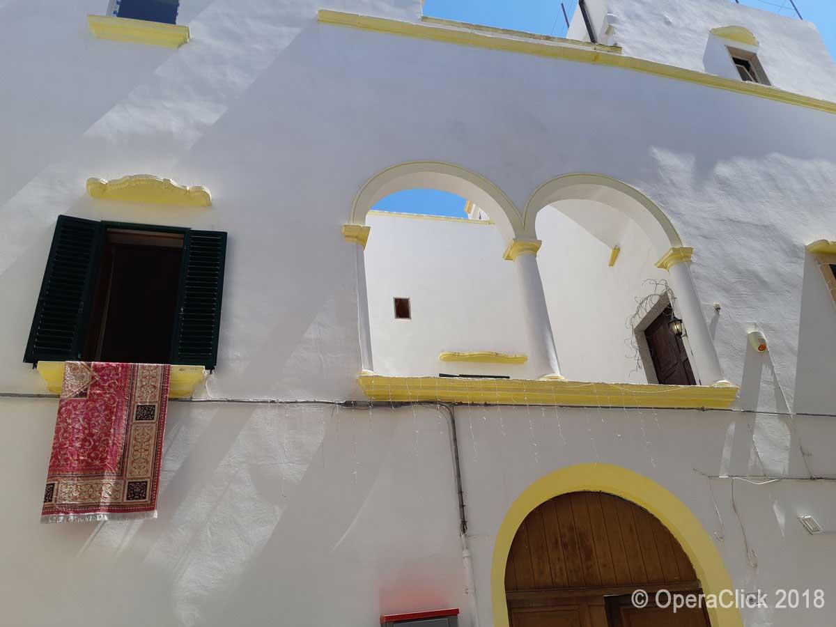 una casa del centro storico di Gallipoli