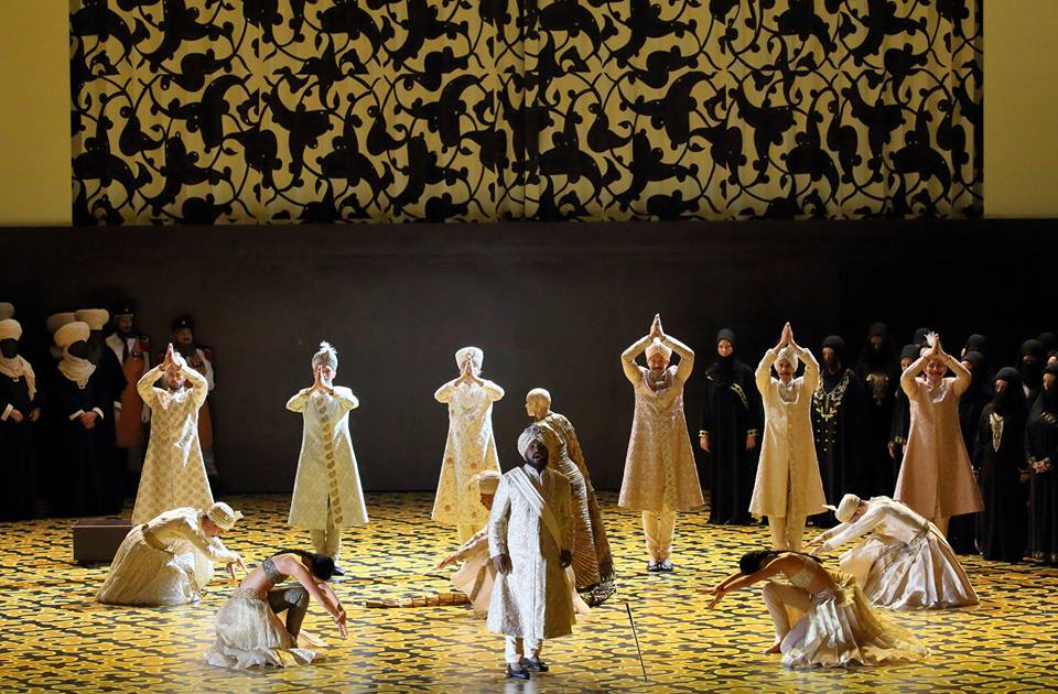 Lawrence Brownlee (Idreno), Opernballett der Bayerischen Staatsoper, Chor der Bayerischen Staatsoper - Copyright: Wilfried Hösl