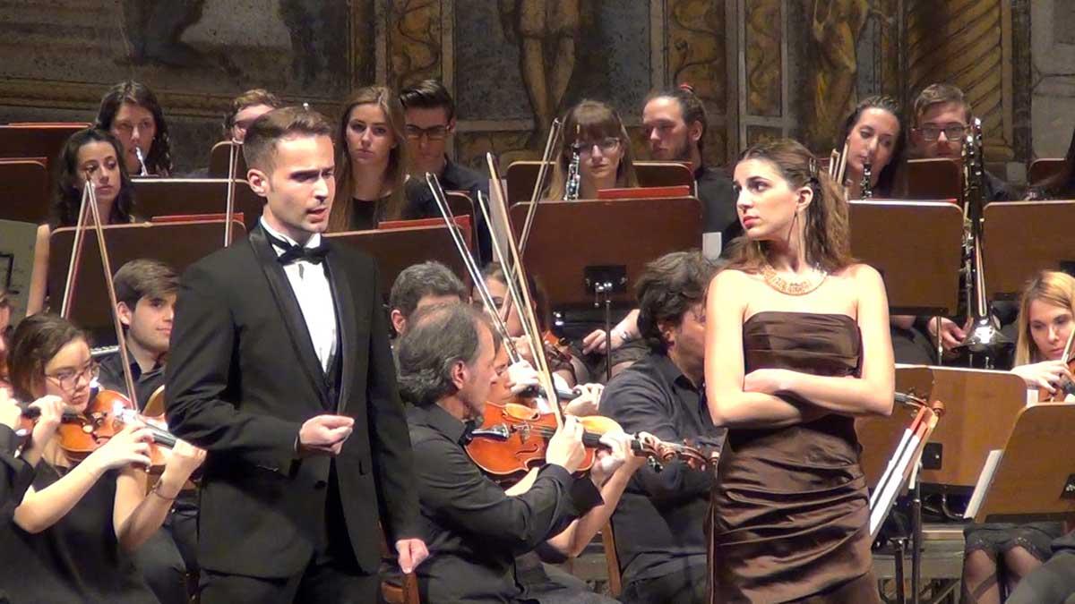 da sx Riccardo Benlodi e Eleonora Boaretto - © OperaClick