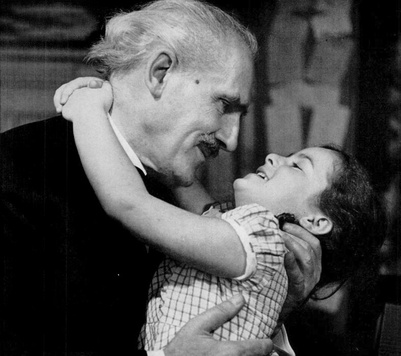 Arturo Toscanini con sua nipote Sonia